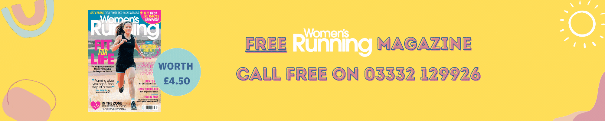 Womens Running Offer